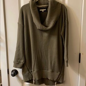 Anthropologie Pure Good Tunic Sweater